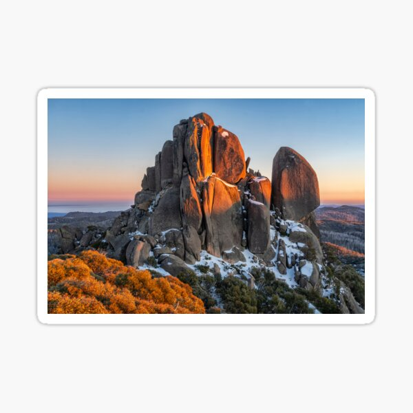 The Cathedral at Mt Buffalo Sticker