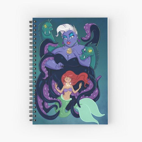Poor Unfortunate Soul Spiral Notebook