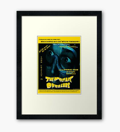 The Mutant Dwellers Movie Poster Framed Print