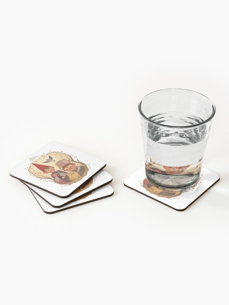 Alternate view of Over the garden wall Coasters (Set of 4)