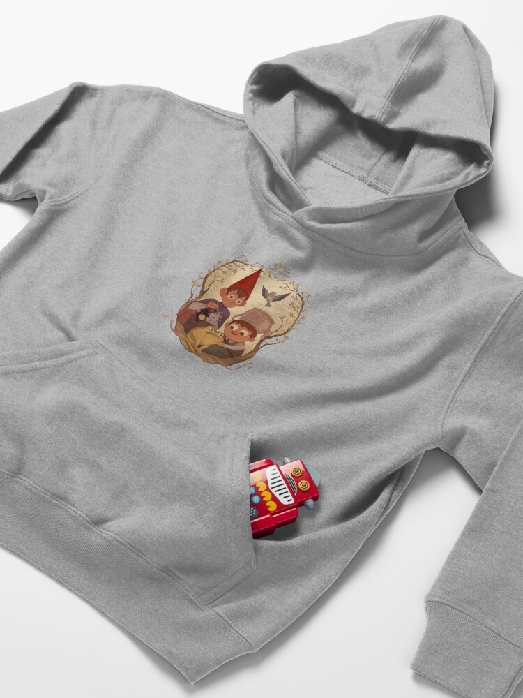 Alternate view of Over the garden wall Kids Pullover Hoodie