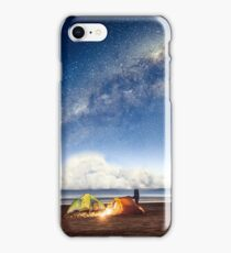 Camping in a fairytale iPhone Case/Skin