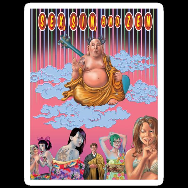 Sex Sin And Zen t-shirt or hoodie by Brad Warner