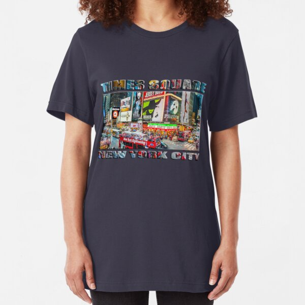 Times Square II widescreen Slim Fit T-Shirt