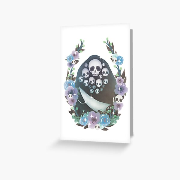 Floral Gravelord Nito Greeting Card