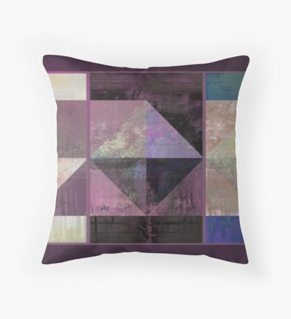 Geo of Fall Throw Pillow