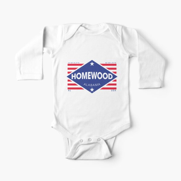 Bar Coded USA Maryland Flag Baby Boy Long Sleeve Infant Bodysuit