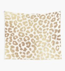ReaL LeOpard - Greek Ancient Gold Wall Tapestry