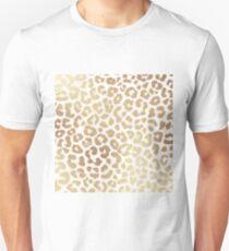 ReaL LeOpard - Greek Ancient Gold Slim Fit T-Shirt