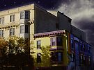 Night in the Colorful City by RC deWinter
