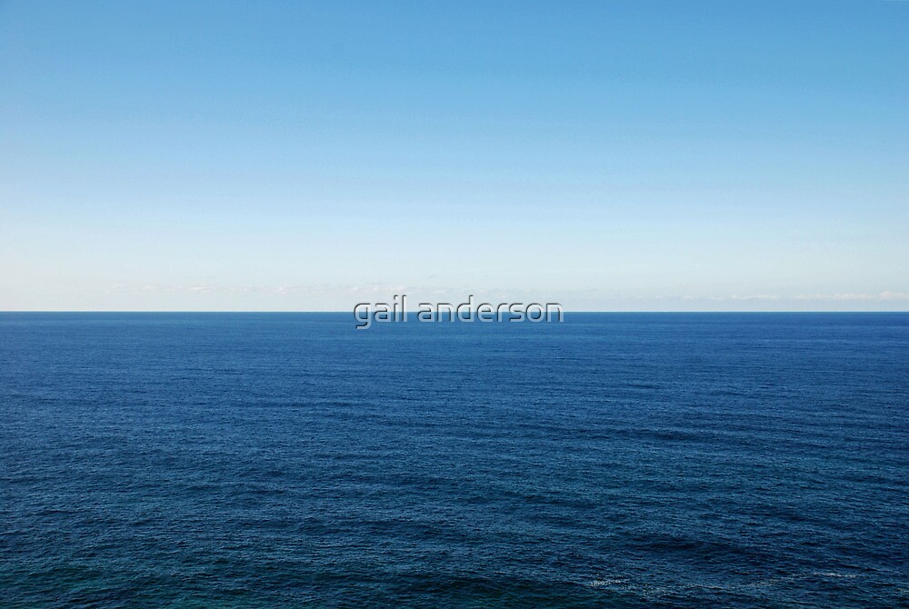 How inappropriate to call this planet Earth when it is quite clearly Ocean.  Arthur C. Clarke  by gail anderson