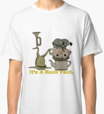 Greg and pet Frog. It's a Rock Fact.  Classic T-Shirt