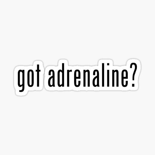 Adrenaline Sticker