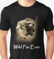 Raccoon in Tree (Wild For Ever) T-Shirt