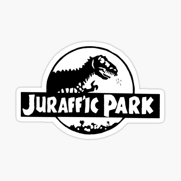 Juraff'ic Park Sticker