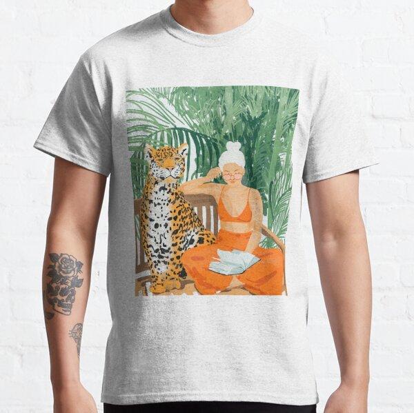 Jungle Vacay II #painting #illustration Classic T-Shirt