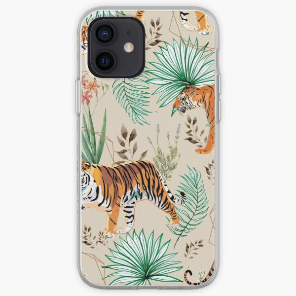 Tropical and Tigers iPhone Soft Case
