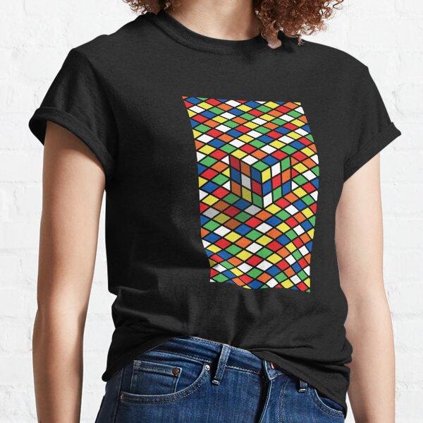 Rubiks Cube 3D Classic T-Shirt