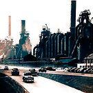 North Side Steel Works - Pittsburgh - Um 1951 von BritishYank