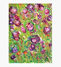 Flowers of Love Photographic Print