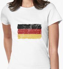 German Flag - Vintage Look T-Shirt