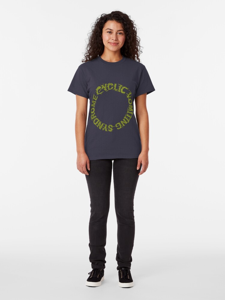 Alternate view of Cyclic Vomiting Syndrome Classic T-Shirt