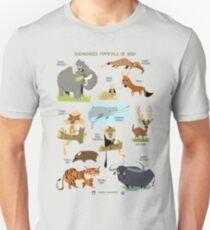 Endangered Mammals of India T-Shirt
