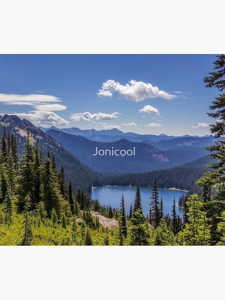 Parque Nacional Dewey Lake Mt Rainier de Jonicool