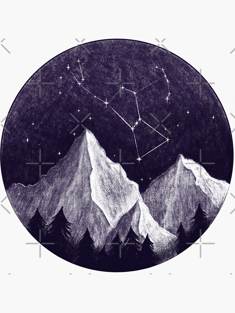 Orion constellation by ElisabethGreen