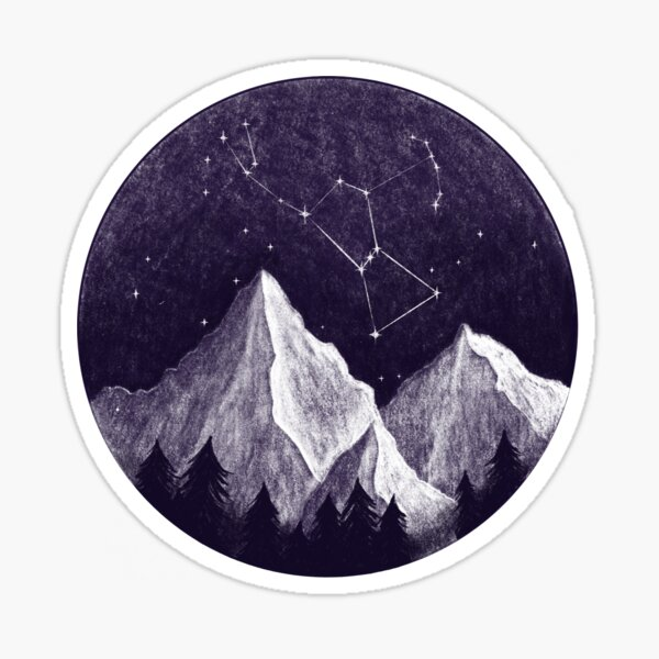 Orion constellation Sticker