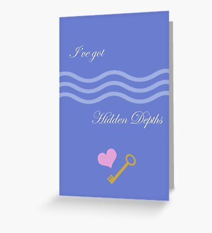 Hidden Depths Greeting Card