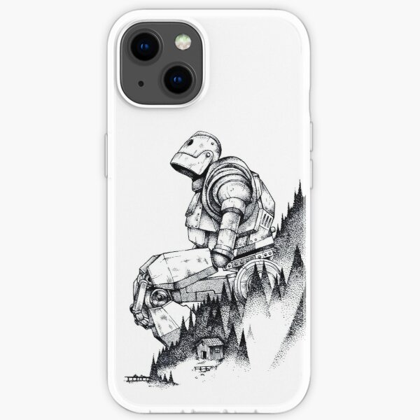 Iron Giant iPhone Soft Case