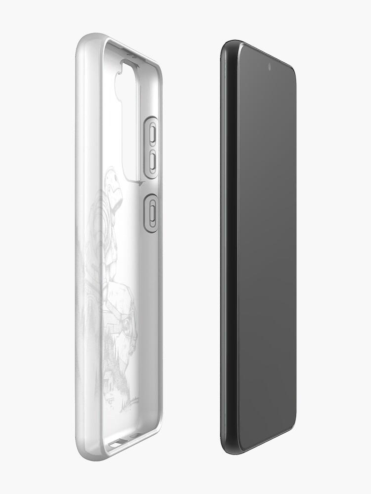 Alternate view of Iron Giant Samsung Galaxy Phone Case