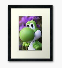 Peaceful Yoshi  Framed Print