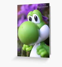 Peaceful Yoshi  Greeting Card
