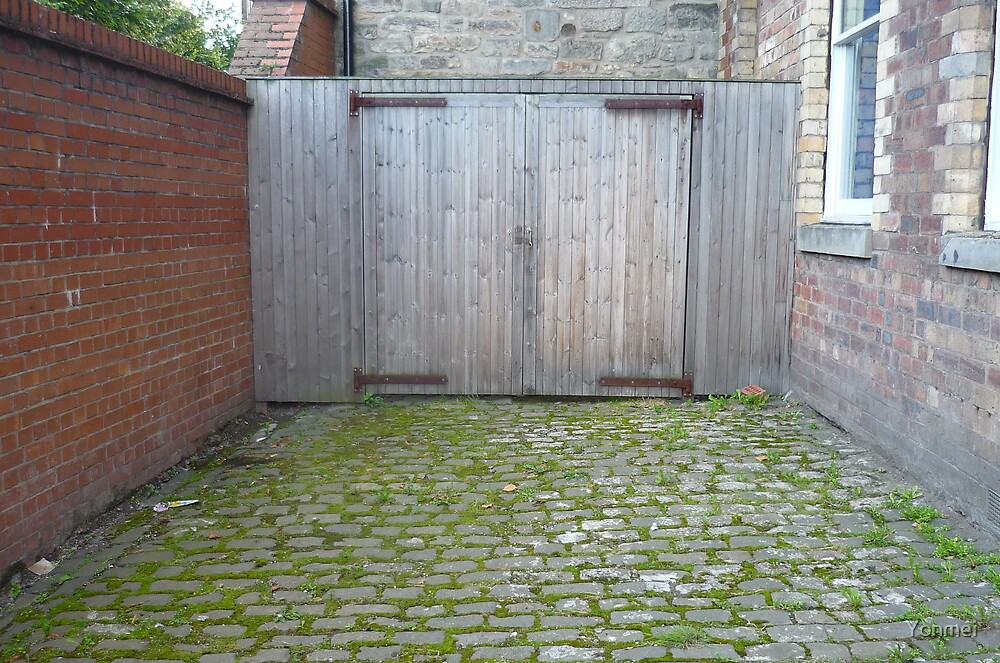 Leith: Two Wooden Doors by Yonmei