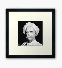 Twain Framed Print