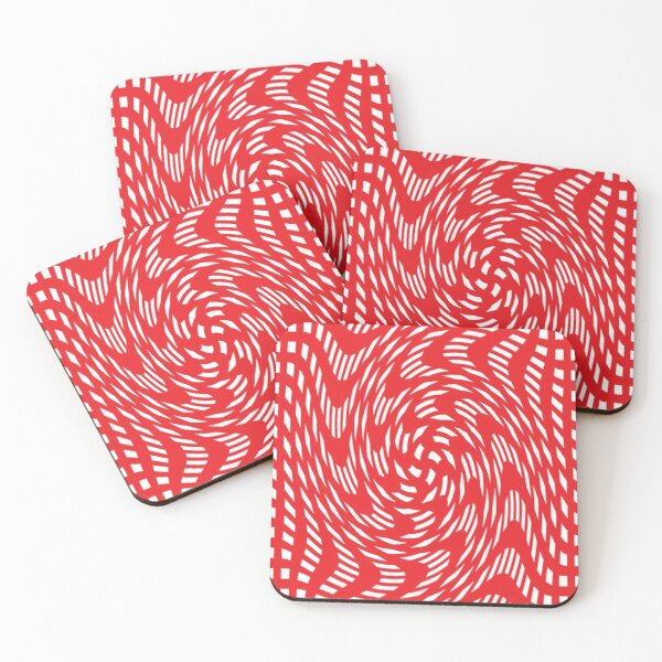Psychedelic art, Art movement Coasters (Set of 4)