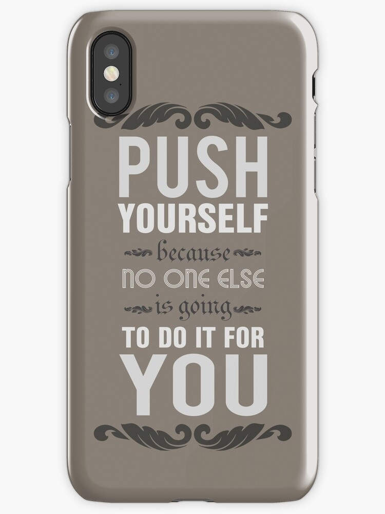 Vinilos y fundas para iphone push yourself because no one else is push yourself because no one else is going to do it for you solutioingenieria Choice Image
