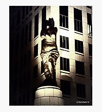 Watching over Cleveland Photographic Print