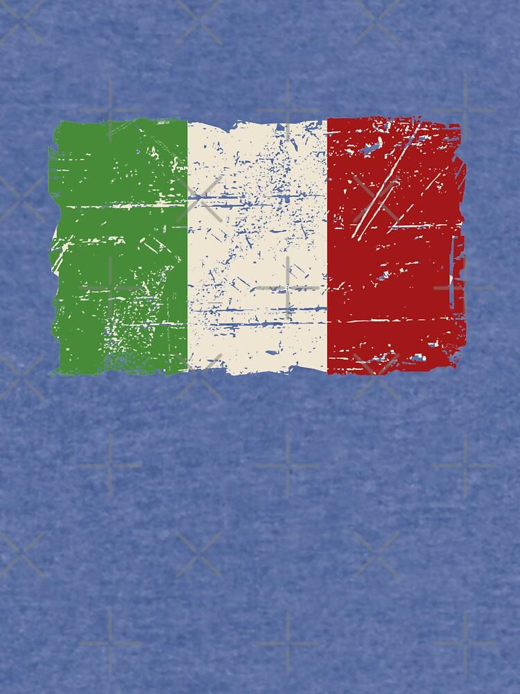 Bandera de Italia - apariencia vintage de Port-Stevens