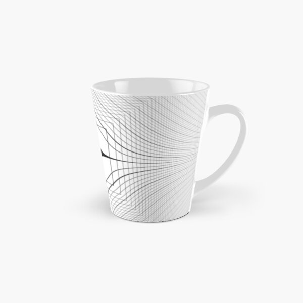 Visual Optical Illusion Tall Mug