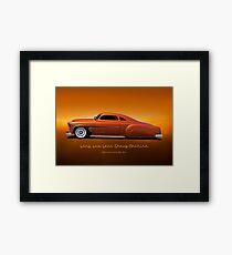 1951 Chevrolet 'Kustom' Bel Air I Framed Print
