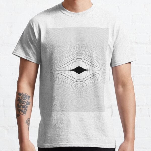 Visual Optical Illusion Classic T-Shirt