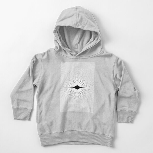 Visual Optical Illusion Toddler Pullover Hoodie