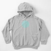 Topographic Map 01 Kids Pullover Hoodie