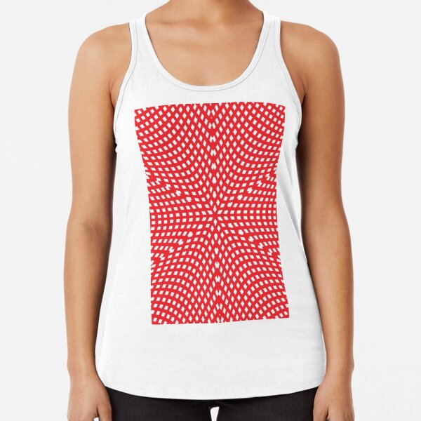 Motif, Visual Art, Kaleidoscope Racerback Tank Top