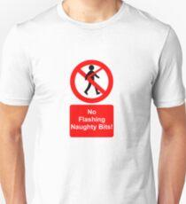 Camiseta unisex No naughty bits