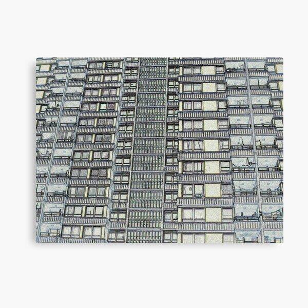 Hanover, Broomhall flats ,Sheffield 3 Canvas Print