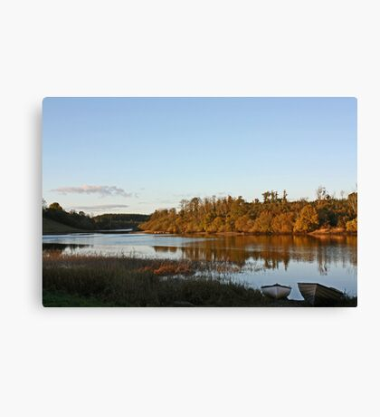 Derries in the late evening sun Canvas Print